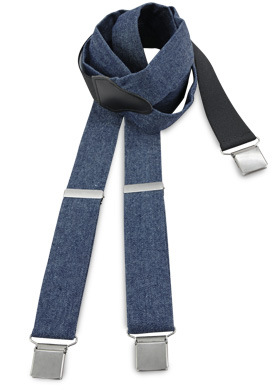 bretels denim blauw