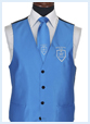 herengilet met borduring logo